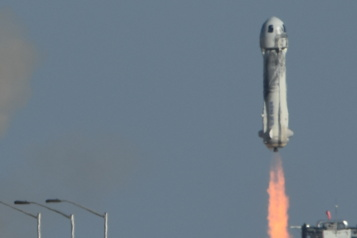 Vol dans l'espace William Shatner a vécu «l'expérience la plus intense» de sa vie