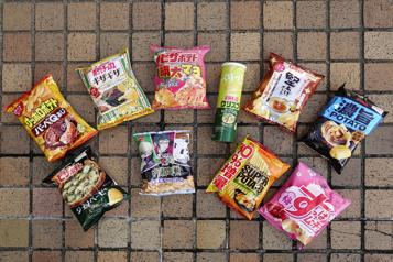 Carte postale Des chips, des chips, on veut des chips! )