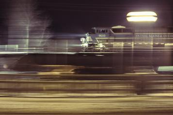 Train Lac-Mégantic-Montréal Une étude de faisabilité en 2021)