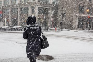 Une première bordée de neige prévue pour dimanche à Montréal)