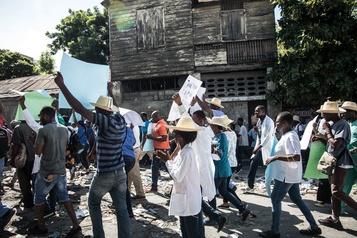 Crise en Haïti: accord entre opposants et société civile pour organiser la transition