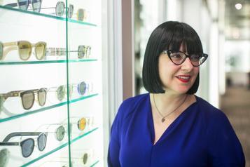 Marie Wilkinson, pour l'amour des lunettes