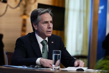 Ukraine Blinken ira à Kiev témoigner du soutien américain)