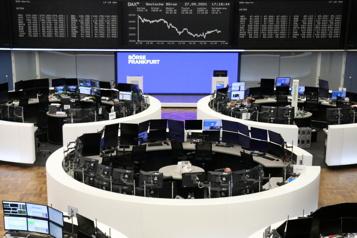 Les Bourses inquiètes face aux prix de l'énergie, tensions sur l'obligataire)