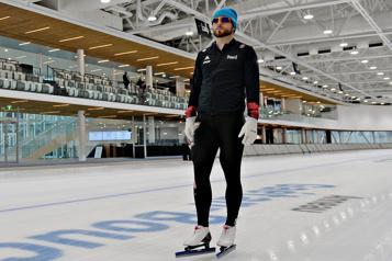Laurent Dubreuil enfin dans son nouveau royaume au Centre de glaces