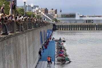 Le triathlon de Montréal aura lieu en août)
