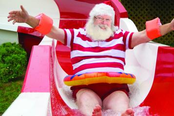 Le Village du père Noël ouvrira ses portes en juin)