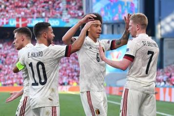 Euro La Belgique se qualifie pour les huitièmes aux dépens du Danemark)