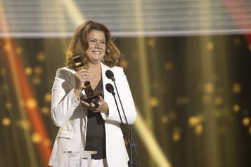 Prix Gémeaux Marina Orsini et Michel Charette récompensés)