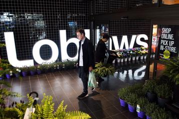 Les ventes enligne de Loblaw doublent