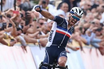 Mondiaux de cyclisme sur route Plan pas plan, Alaphilippe y va!
