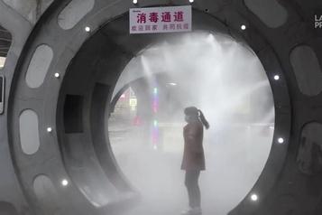 Un désinfectant pas comme les autres en Chine