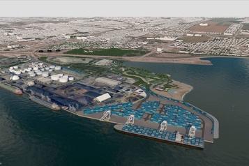 Terminal portuaire de conteneurs Bulletin environnemental: le port de Québec a un mois pour redorer le projet Laurentia)