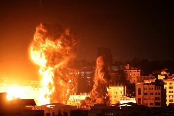 Nouvelles frappes aériennes d'Israël contre Gaza)