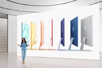 Apple «AirTag» et iMac ultramince dévoilés)