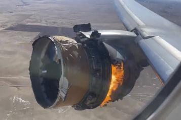 Incident d'un Boeing777 Un rapport intermédiaire confirme la «fatigue du métal» d'une pale)