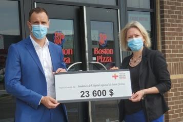 23 600$ pour l'Hôpital de Saint-Jérôme)
