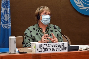 Droits de la personne Bachelet dénonce «les plus vastes et les plus sévères» reculs qu'elle ait jamais vus)
