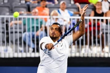 Tennis «Ce sport aurait pu me faire sombrer», admet Nick Kyrgios)