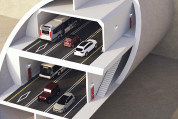 Un tunnel à plus de 7milliards entre Québec et Lévis)