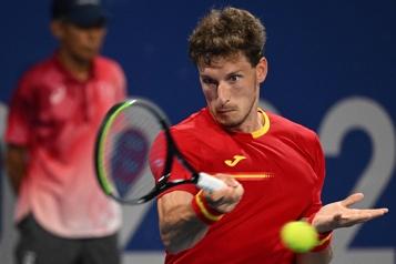 Tennis Pablo Carreno élimine Daniil Medvedev )