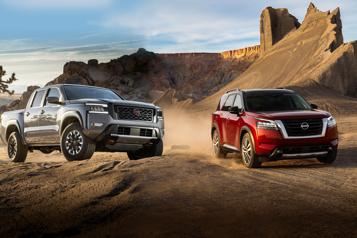 Nissan  Les Pathfinder et Frontier s'offrent une refonte complète)
