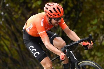 Tour d'Italie Josef Cerny vainqueur d'une 19eétape amputée)