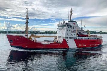 Garde côtière canadienne La facture d'un navire grimpe à près de 1milliard)