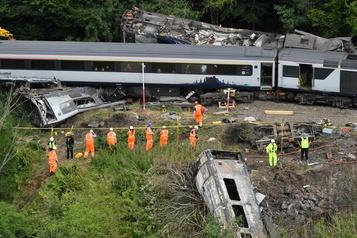 Le déraillement mortel en Écosse provoqué par un glissement de terrain)