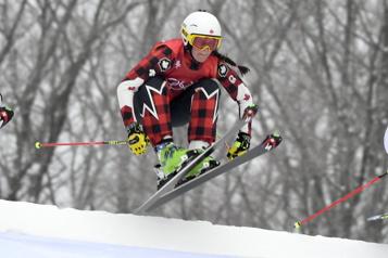 Ski cross Marielle Thompson décroche l'argent à Idre Fjäll)