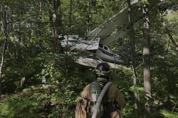 Un hydravion s'écrase à Shawinigan