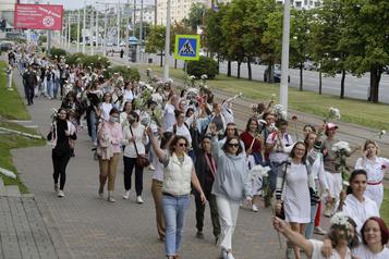 La Russie dénonce des tentatives étrangères de «déstabiliser» la Biélorussie)