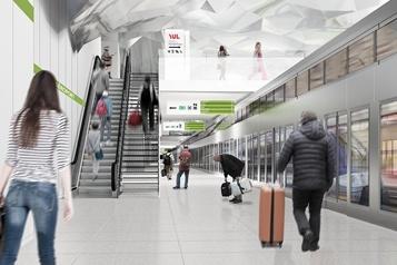 Station du REM à l'aéroport de Montréal Ottawa et Québec concluent une entente)