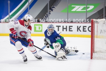 Canadien 5 – Canucks 2 La force du nombre)