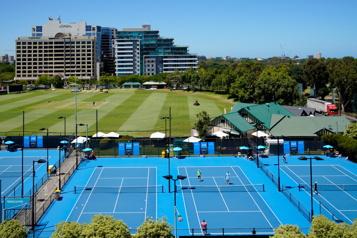 Internationaux d'Australie Le calendrier préparatoire modifié pour aider les joueurs en quarantaine)