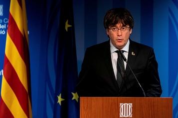Condamnations indépendantistes: Puigdemont appelle à une réponse dans les urnes