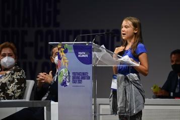 «Il est temps»: les jeunes veulent leur mot à dire pour sauver la planète)