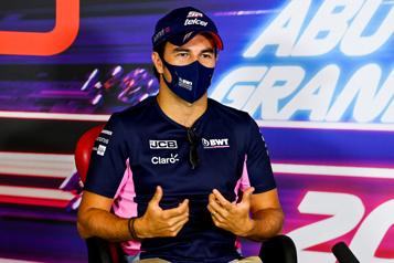 Formule 1 Sergio Perez s'alignera pour Red Bull en 2021)
