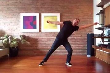 La danse en ligne du Grand Continental)