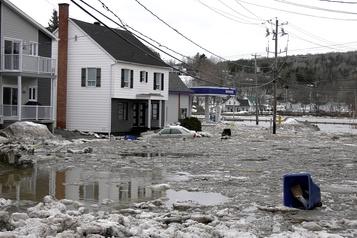 Inondations: 100 édifices de Beauceville pourraient être démolis