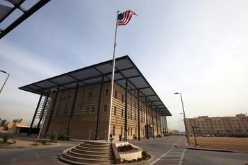 Deux roquettes s'abattent près de l'ambassade américaine à Bagdad