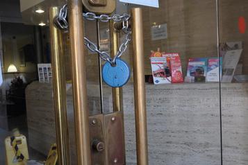Les hôteliers de Barcelone sont découragés)