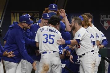 Les Dodgers en Série mondiale pour la troisième fois en quatre ans)