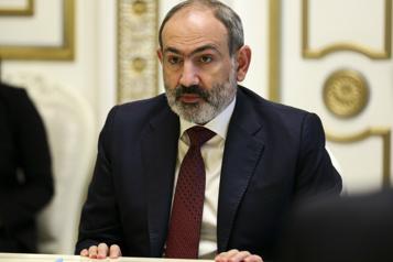 L'Arménie accuse l'Azerbaïdjan de chercher à conquérir son territoire)