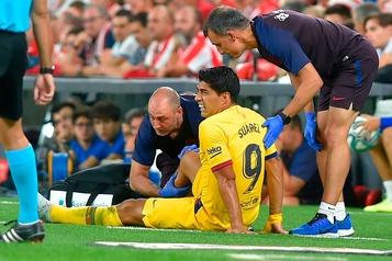 FC Barcelone: Luis Suarez sera absent environ un mois