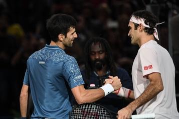 Finales de l'ATP: Federer dans le groupe de Djokovic