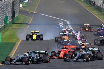 La F1 approuve les changements aux règlements