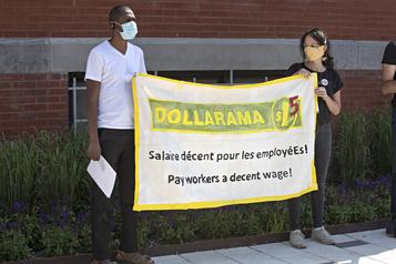 Les conditions de travail chez Dollarama de nouveau dénoncées)