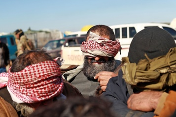 Syrie: l'ONU s'inquiète du «risque de dispersion» des prisonniers djihadistes