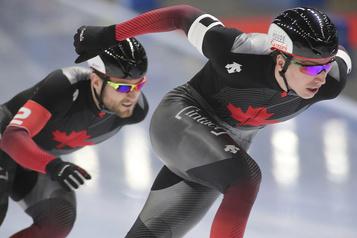 Patinage de vitesse: le Canada en bronze au sprint
